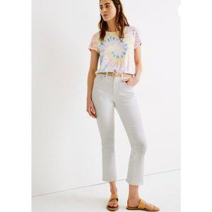 Madewell $128 Tall Cali Demi-Boot Jeans White